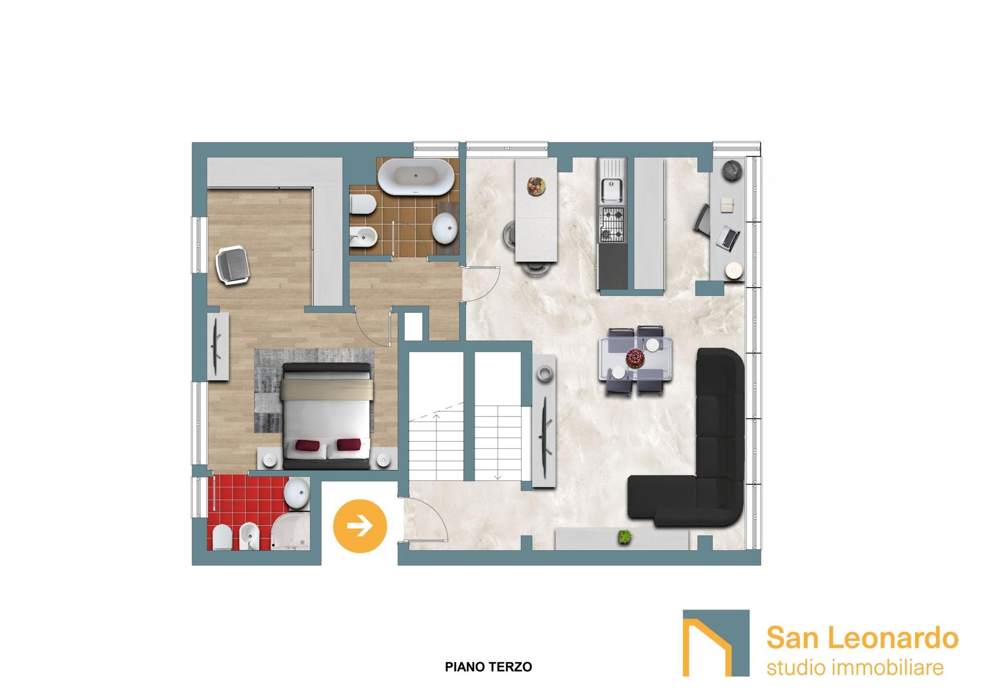 plani d studio san leonardo attico piano terzo jpg
